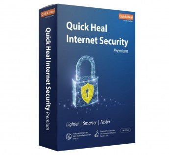 Quick Heal Internet Security premium Latest Version - 2 PCs, 1 Year (DVD)
