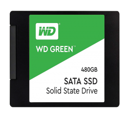 Western Digital SSD 480GB Internal Solid State Drive WD Green II (WDS480G2G0A SATA I)
