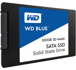 Western Digital SSD 500GB Internal Solid State Drive WD Blue (WDS500G1B0A)