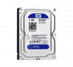 Western Digital Blue 1TB Internal Desktop 3.5 Inch Hard Drive (WD10EZRZ)