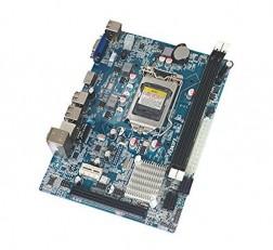 Foxin Motherboard H61 Motherboard 2nd, 3rd Generation Motherboard LGA Chipset 1155 SOCKET Suitable for 2nd, 3rd Generation Core i3/i5/i7