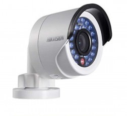 HikVision Camera Night Vision Bullet Camera DS-2CE1AD0T-IRP\ECO 2MP 720P CMOS IR Night Vision Bullet Camera (White)