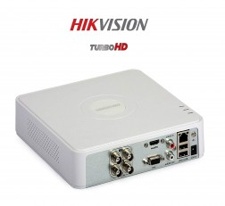 Hikvision 4 channel DVR HD DVR 4 Channel DS-7A04HGHI-F1 Eco Series 720p for 1MP and 2MP Cameras