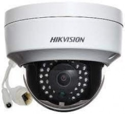 Hikvision Dome Camera DS-2CD214WFWD-I 4MP 2 LINE IP Dome Camera (White)
