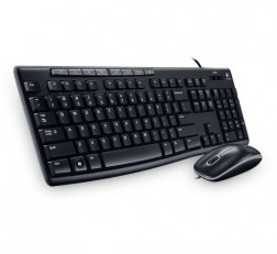 Logitech Media Keyboard Mouse Combo MK200. Keyboard and High-Definition Optical Mouse