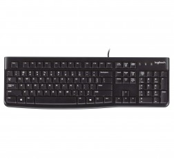 Logitech Keyboard K120 Plug and Play USB K120USBKBD Keyboard