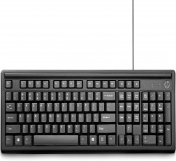 HP Keyboard 100 Wired USB Keyboard