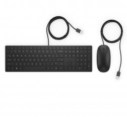 HP Keyboard and Mouse 4CE97AA USB Keyboard and Mouse Pavilion (Black)