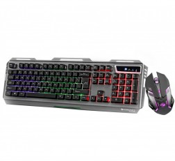 ZEBRONICS USB Keyboard Mouse Combo Gaming Multimedia USB Keyboard & USB Mouse Combo Transformer