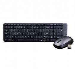 Zebronics Keyboard and Mouse Combo Companion 104 Wireless with Rupee Key