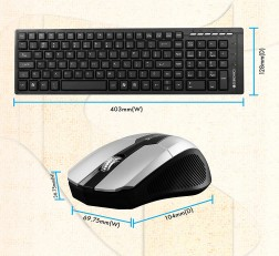 Zebronics Judwaa Keyboard Mouse Combo 580 Standard Black