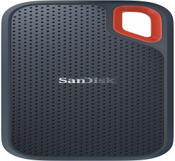 SanDisk SSD 500GB USB-C, USB 3.1, for PC & Mac & IP55 Rated