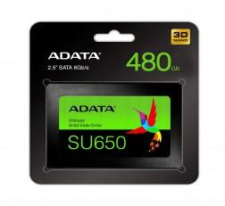 ADATA SSD 480GB Ultimate SU650 3D NAND
