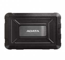 "Adata ED600 2.5"" USB 3.2 Gen1 External Enclosure Cover Case for SSD HDD - Black"