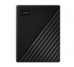 Western Digital WD 4TB My Passport Portable External Hard Drive, Black - with Automatic Backup, 256Bit AES Hardware Encryption & Software Protection
