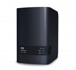 Western Digital My Cloud EX Ultra 4TB 2-Bay Network Attached Storage 3.0 USB (Black) Western DigitalBVBZ0040JCH-BESN