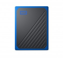 Western Digital My Passport Go 500GB Black w/Cobalt Trim