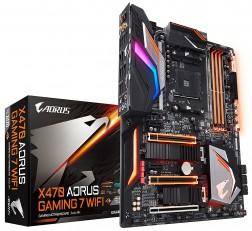 Motherboard GIGABYTE X470 Motherboard AORUS Gaming 7 WIFI (AMD Ryzen AM4/ X470/ Intel Wave 2 WIFI/ M.2) Motherboard