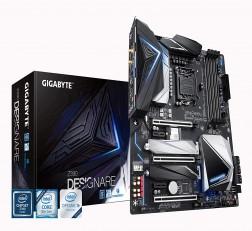 GIGABYTE Motherboard Z390 Motherboard DESIGNARE Gigabyte (Intel LGA1151/Z390/ATX/2xM.2/Thunderbolt 3/Onboard AC Wifi/12+1 Phases Digital Vrm/Motherboard)