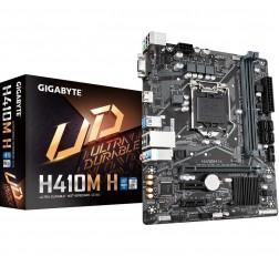 Motherboard GIGABYTE H410M Motherboard H Ultra Durable Motherboard with GIGABYTE 8118 Gaming LAN, Anti-Sulfur Resistor, Smart Fan 5