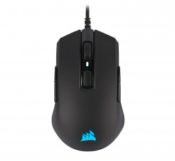 Corsair Mouse M55 Gaming Mouse RGB Pro Ambidextrous Gaming Mouse,12400 DPI Adjustable Sensor Black
