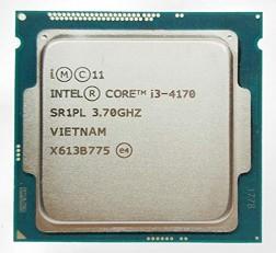 Intel Processor Core i3 Processor 4th Generation processor 4170 3.7 Ghz Processor for | Intel H81 Chipset Motherboards | DDR3 RAM & LGA 1150 Sockets | Without Fan | Tray Processor (OEM)
