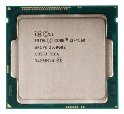 Intel i3 4th Generation Processor 4160 3.6 Ghz 4th Generation Processor Designed for H81 Intel Chipset Motherboards, DDR3 RAM & LGA 1150 Sockets | Without Fan | Tray Processor (OEM)