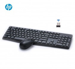 HP Keyboard and Mouse Combo 7YA13PA Keyboard and Mouse Wireless Multi Device Keyboard and Mouse Combo CS10 Black